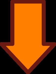 Orange Arrow Clip Art