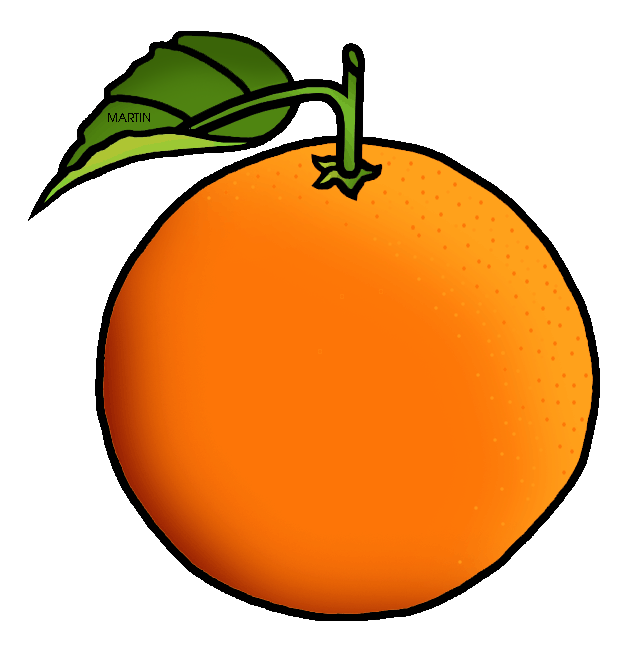 Orange free united states clip .