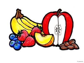 Original Illustrated Schedule Snack Icon