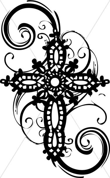 Ornate Cross Clipart