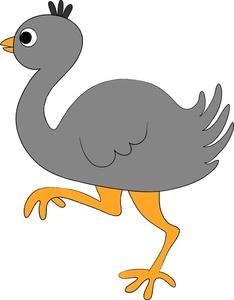 Ostrich Clipart