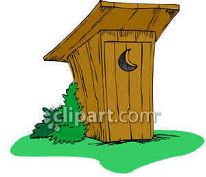 Outhouse Clipart #124