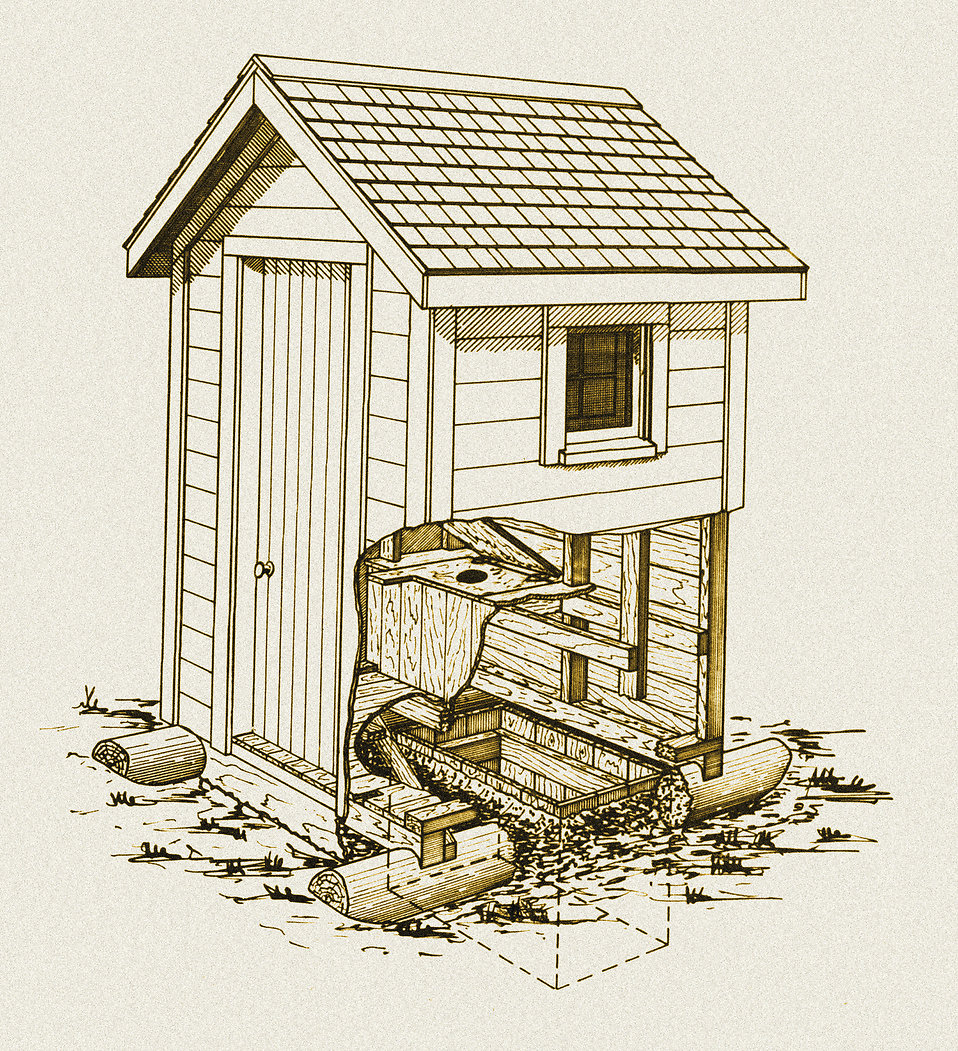 Outhouse Clipart