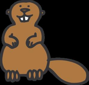 Outline Beaver Clipart. Beaver