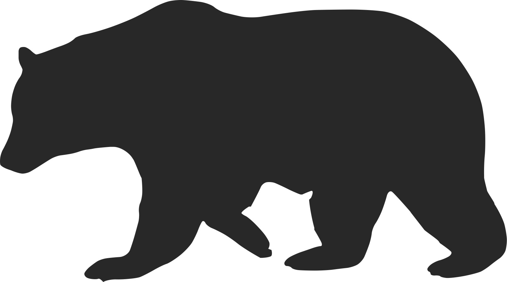 Outline Of Black Bear Photos Good Pix Gallery