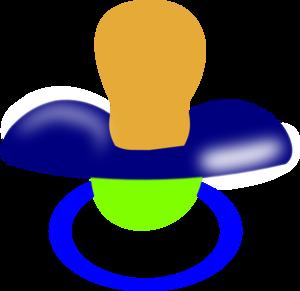 Pacifier clip art at vector clip art