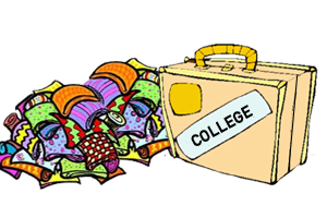 Packing For College Clipart