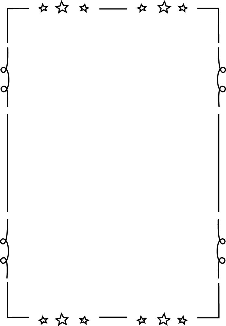 Page borders, Clip art and .