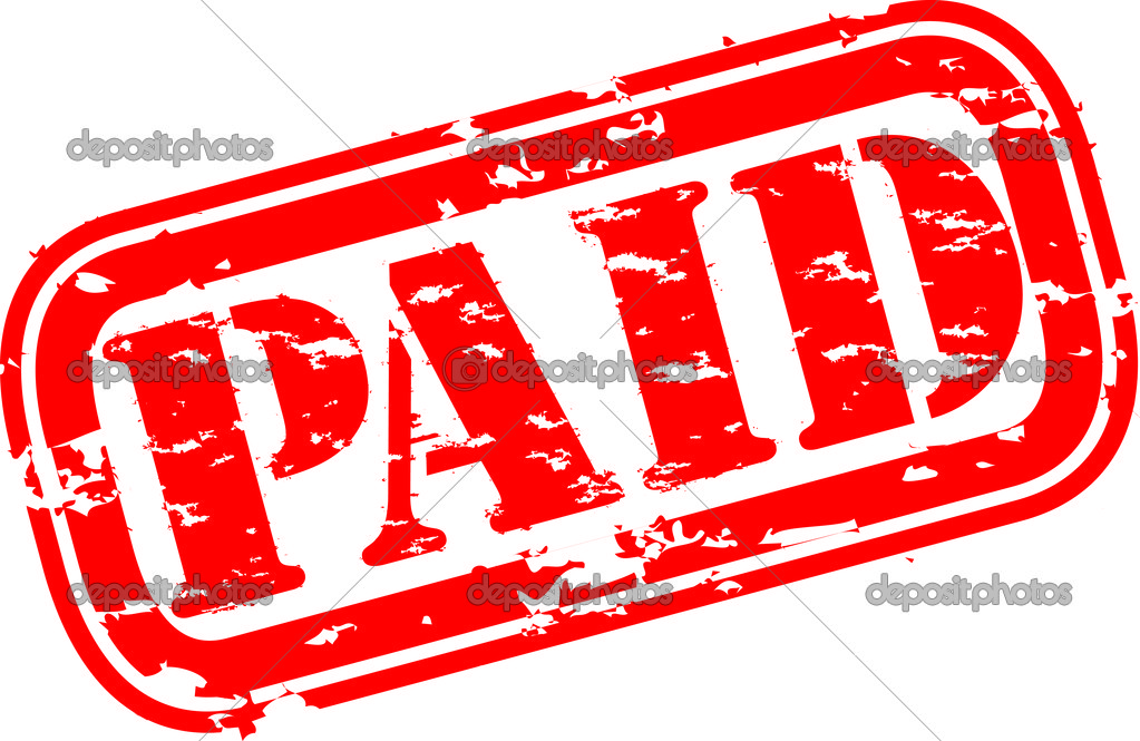 Paid In Full Stamp Clip Art Beautiful Scenery Photography