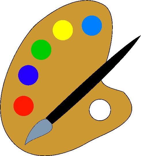 Paint clipart image
