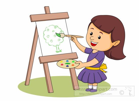 Paint free art supplies clipart clip pictures graphics