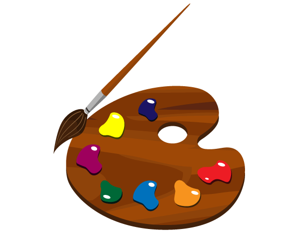 Paint Palette Clip Art Free | Download Free Vector Graphic Designs