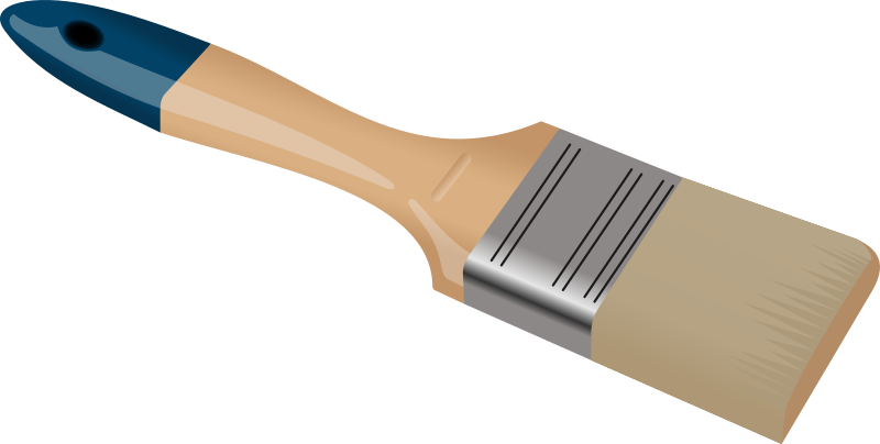 Paintbrush free paint brush clip art