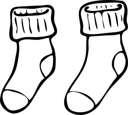 pair clipart u0026middot; sock clipart