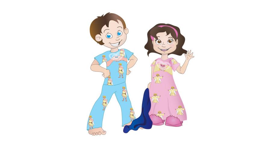 Boy Pajamas Clipart Images
