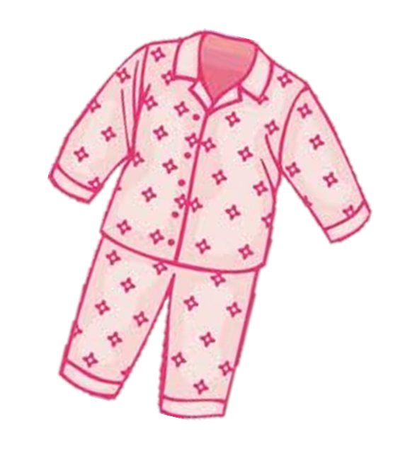Pajama Clipart - PNG Image #4882