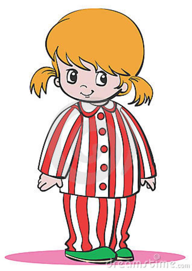 Pajamas clip art free clipart images 5
