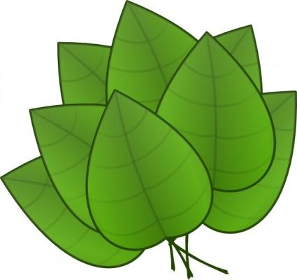 Palm leaves clip art free .