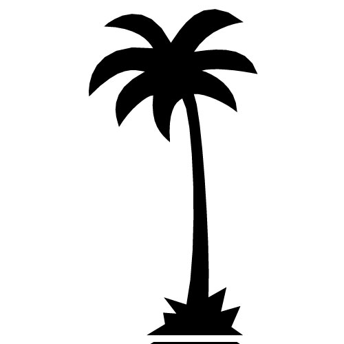 Palm tree art tropical palm trees clip art go back images for 2