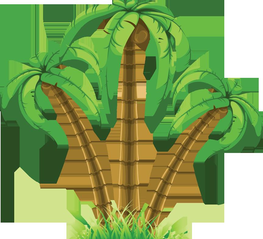 Palm Tree Vector Art Free