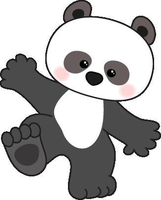 Panda clipart panda stockphoto .