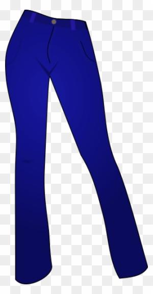 Pant - Clipart - Dark Blue Pa - Pant Clipart