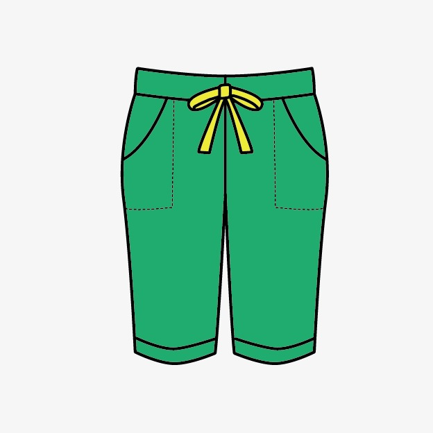 pants, Clothes, Cartoon PNG I - Pant Clipart