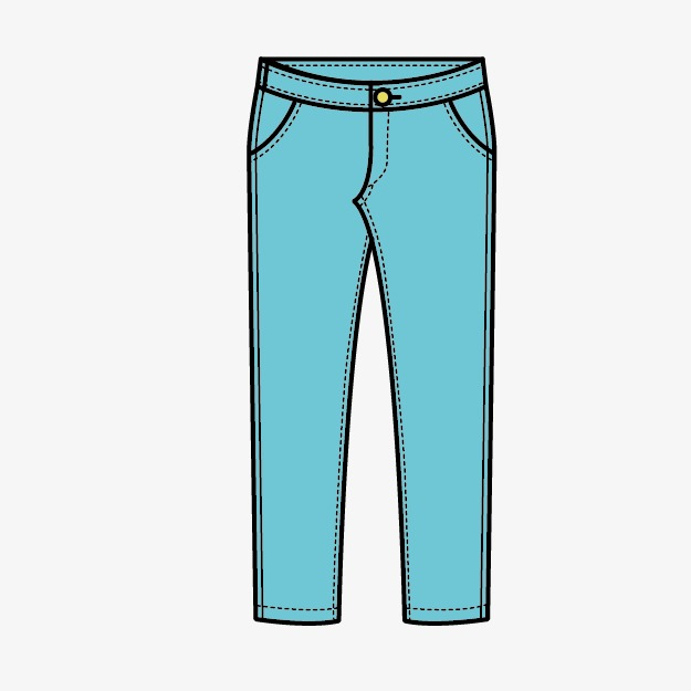 pants, Clothes, Cartoon PNG Image and Clipart