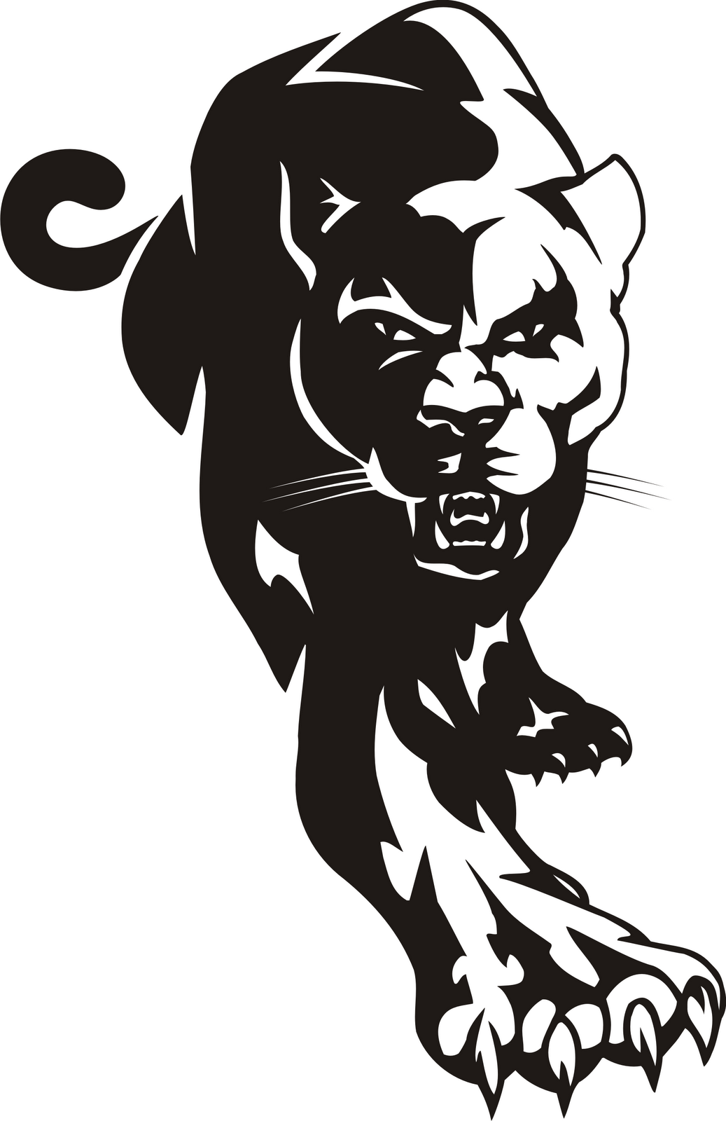 Panther Clipart 11
