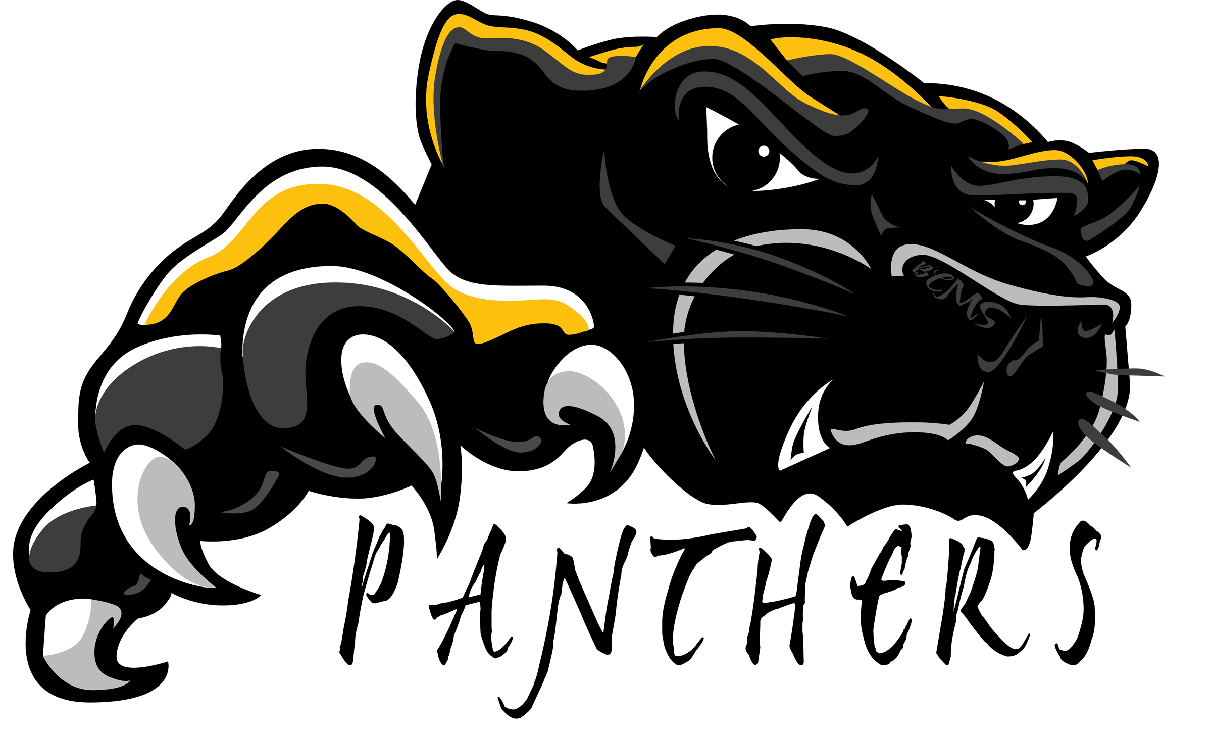 Panther logo clipart clipart kid 2