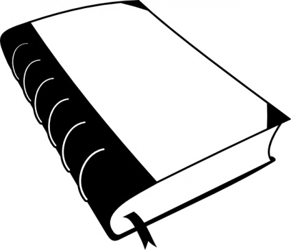 paper clip clipart black and white