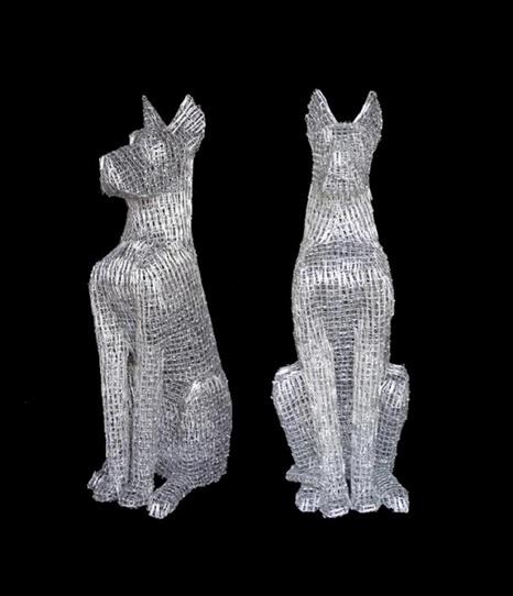 Paper Clip Sculptures by Pietro Du0026#39; Angelo