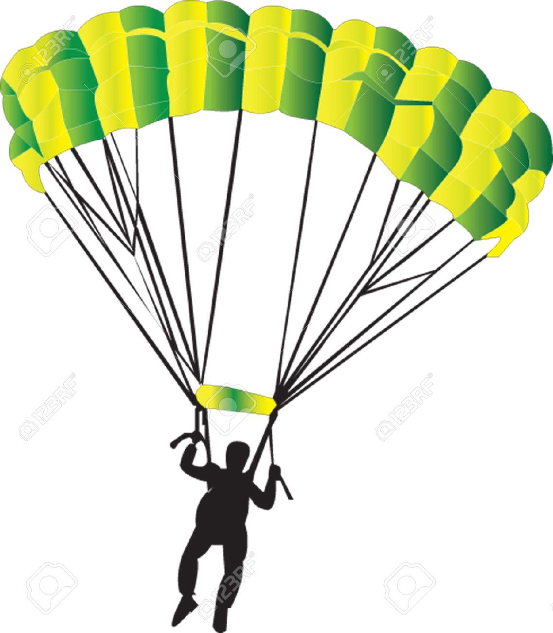 Parachute Clip Art