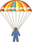 Parachute Clipart Royalty Free 899 Parachute Clip Art Vector Eps
