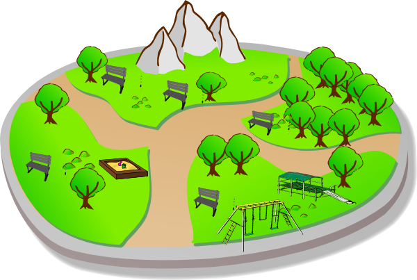 Park Clipart this image as: