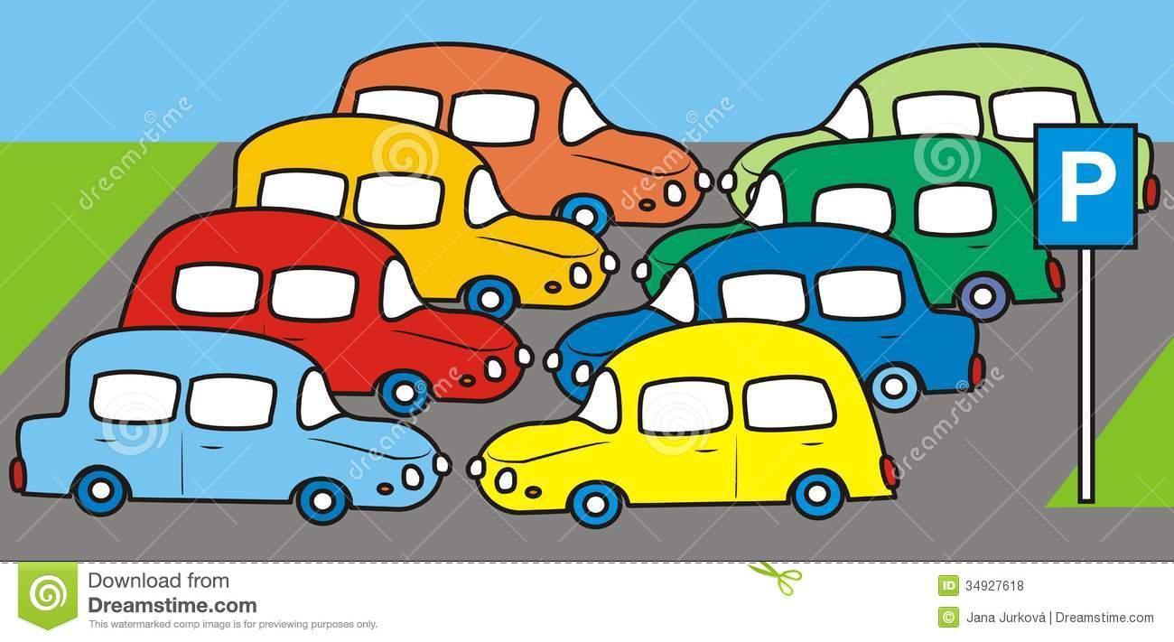 Parking Royalty Free Stock Photos Image 34927618