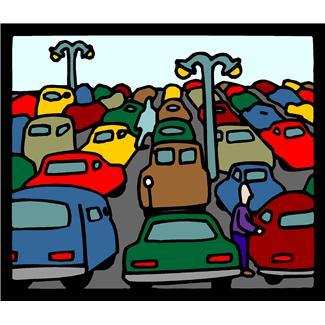 Parking Spot Clipart
