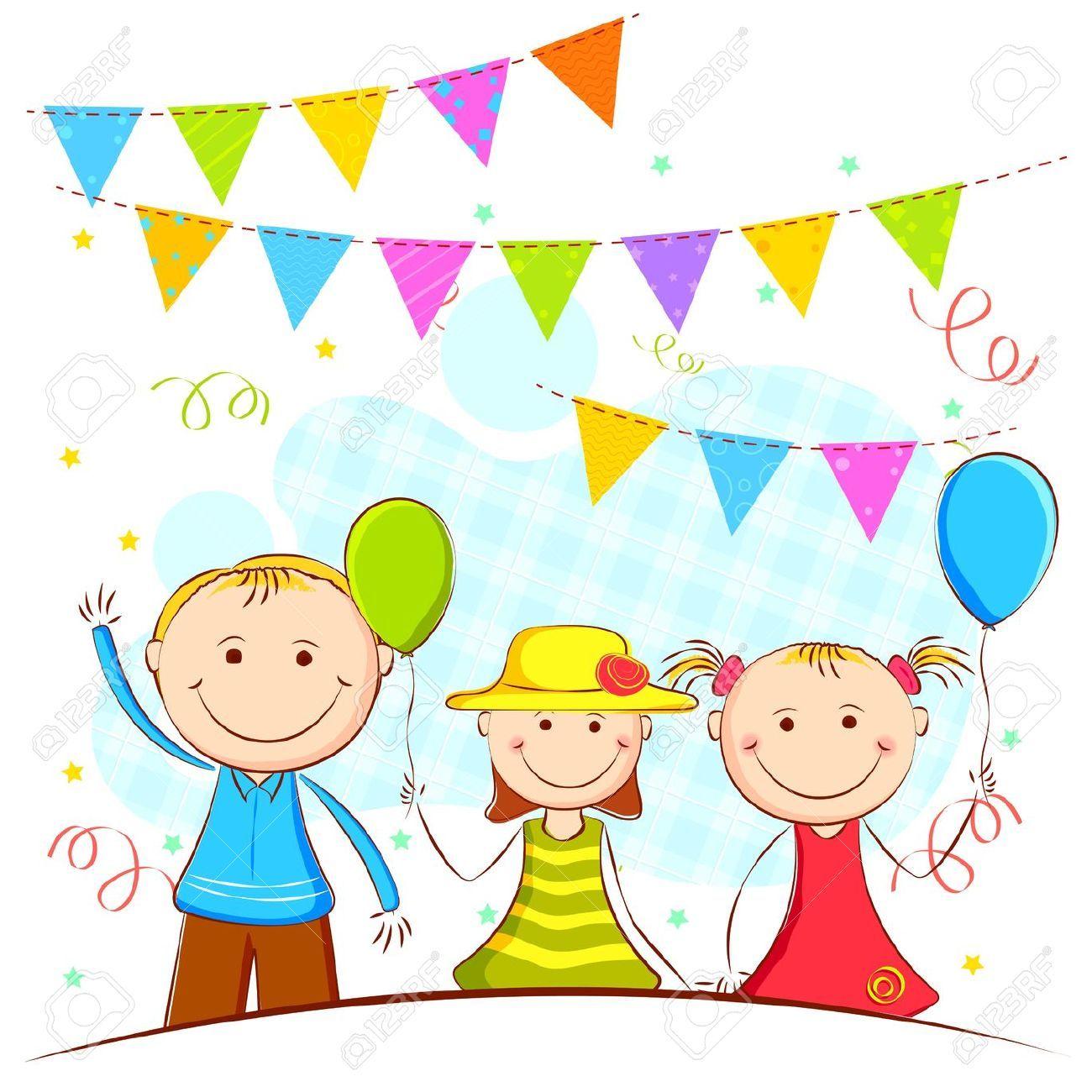 kids party clipart - Google zoeken