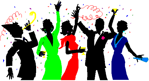 Lunch Party Clipart #1