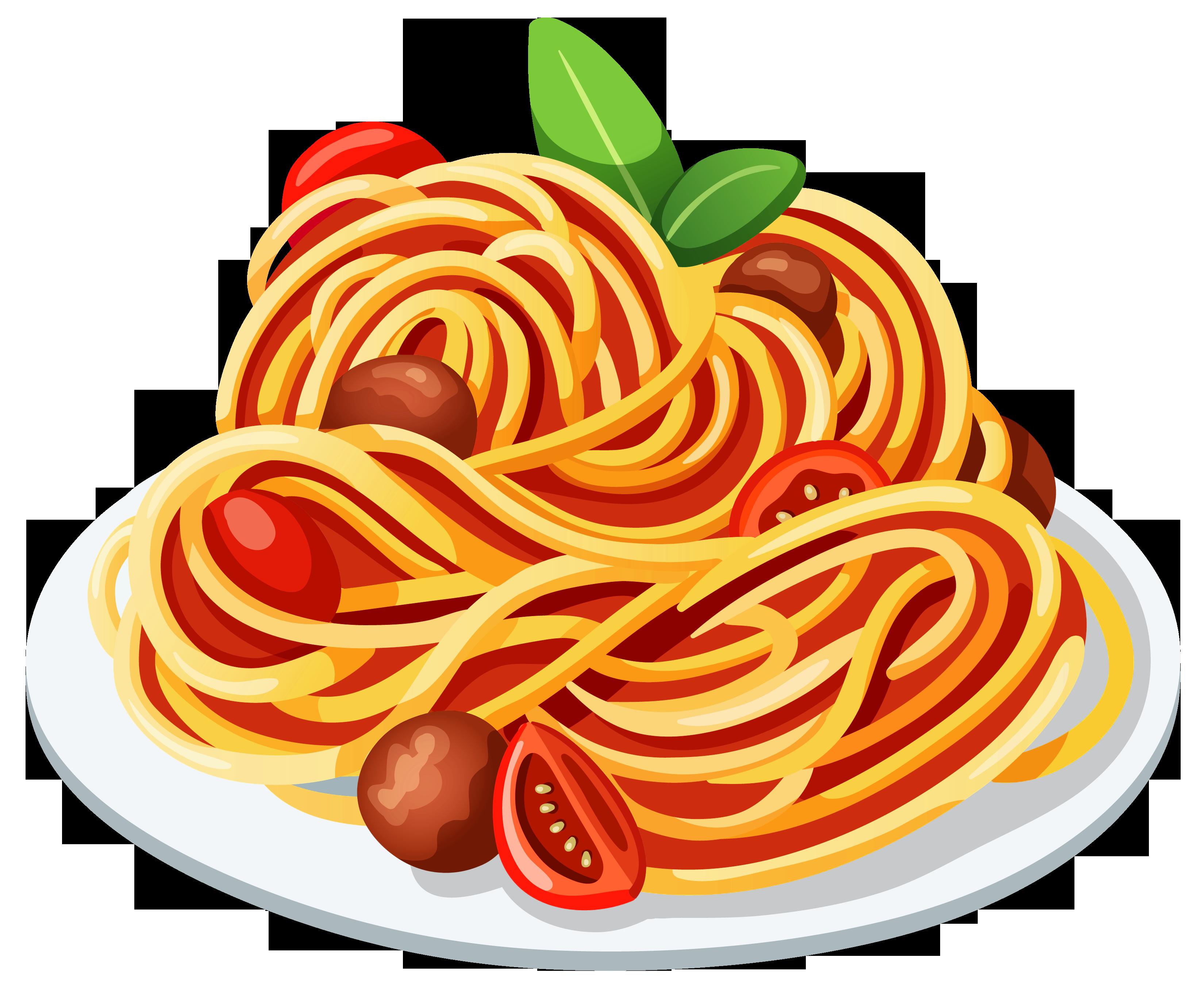 Pasta cliparts
