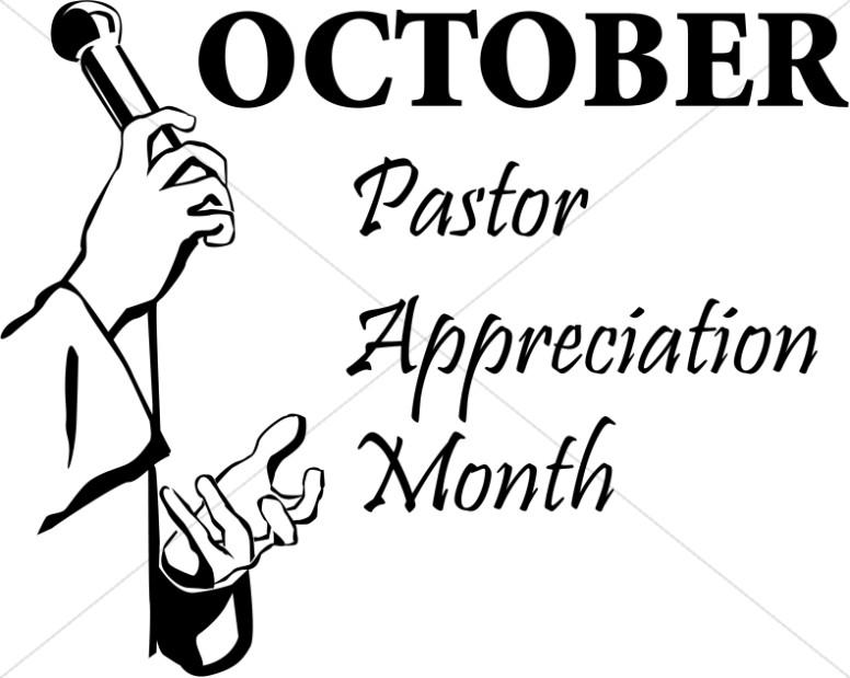 Pastor Appeciation Word Art