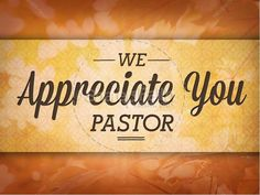 Pastor Appreciation Day Christian PowerPoint | Display your gratitude using this autumn-themed religious PowerPoint