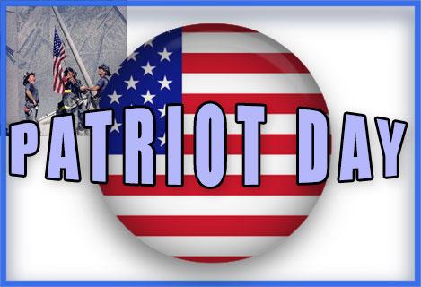Patriot Day raising the .