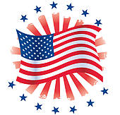 Patriotic Abstract u0026middot; Patriotic Circle