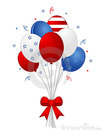 Patriotic Balloons Royalty Clipart Panda Free Clipart Images