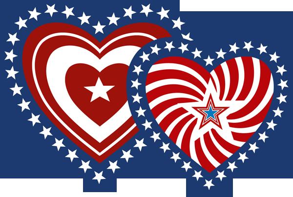 Patriotic clip art clipart