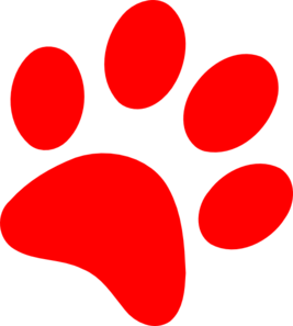 Paw Print Clip Art At Clker Com Vector Clip Art Online Royalty Free