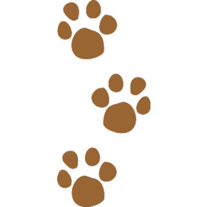 Paw Print Clip Art u0026 Paw Print Clip Art Clip Art Images . hdclipartall.com svg