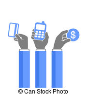 Online payment illustrations and clipart (43,436)