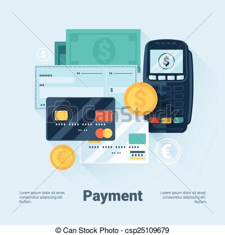 Payment Methods Concept - csp25109679